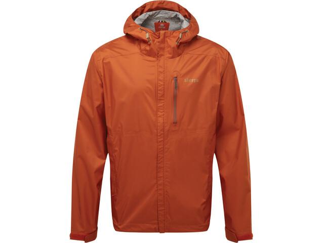 Sherpa Kunde 2.5-laags Jas Heren, teej orange